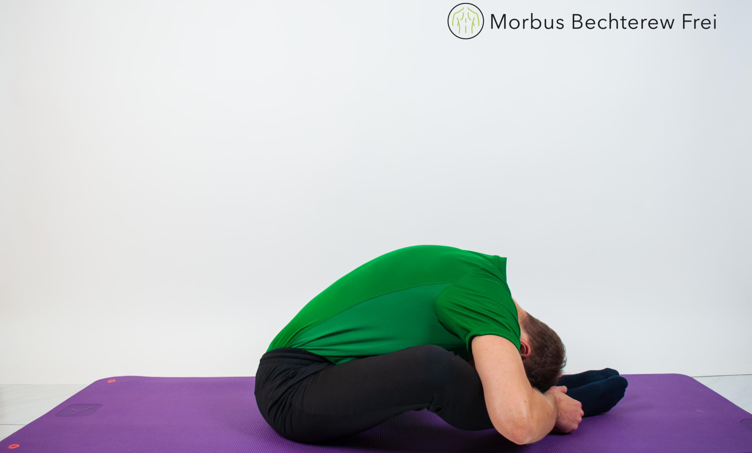 Dehnung der Hals- und Lendenwirbelsäule